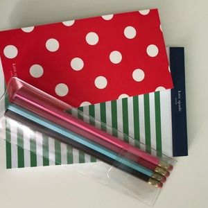 kate spade Office - Kate Spade stationery pack